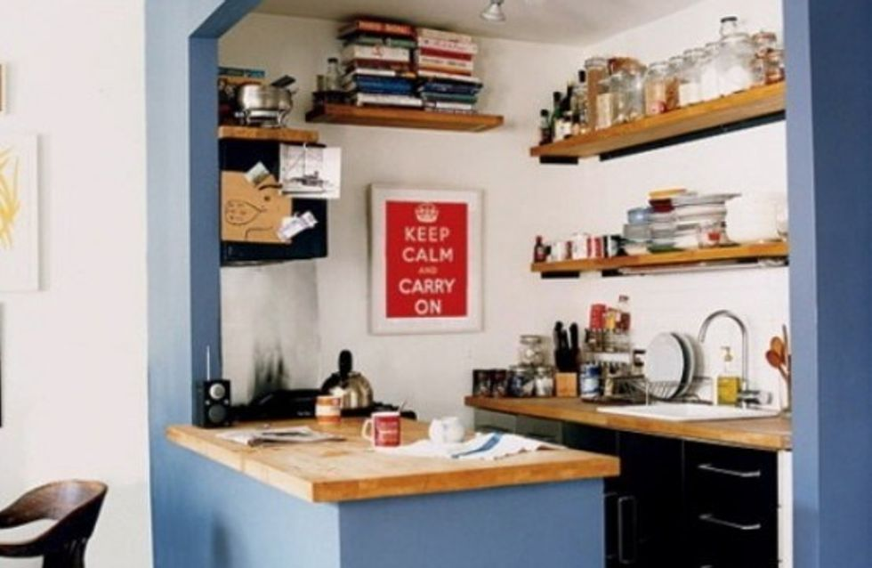 6 astuces pour petites cuisines