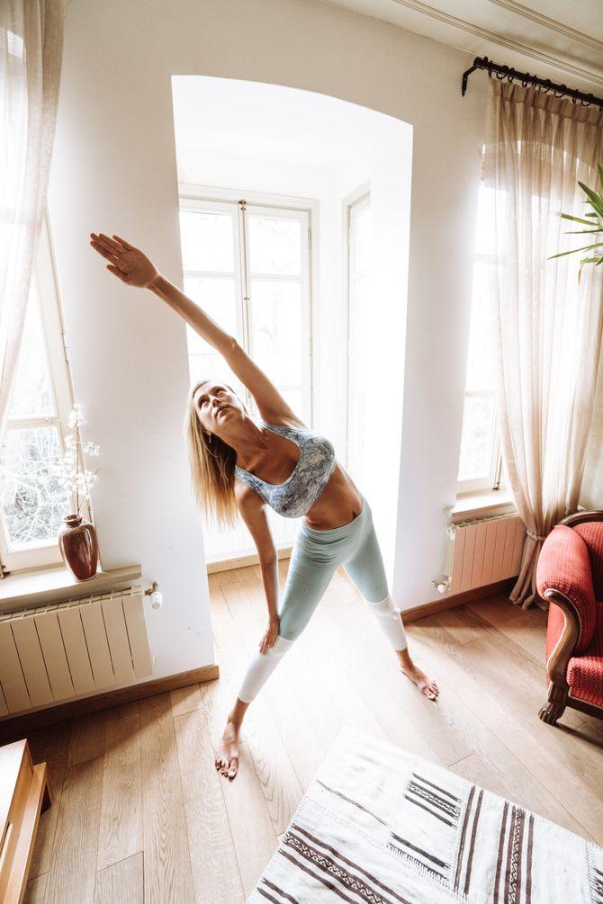 Les exercices à faire chez soi