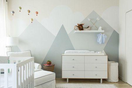 7 conseils pour peindre la chambre de bebe