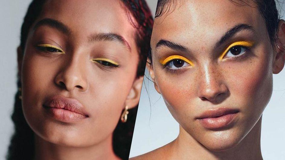Pas banale, vous allez adorer cette tendance make-up printanière ensoleillée !