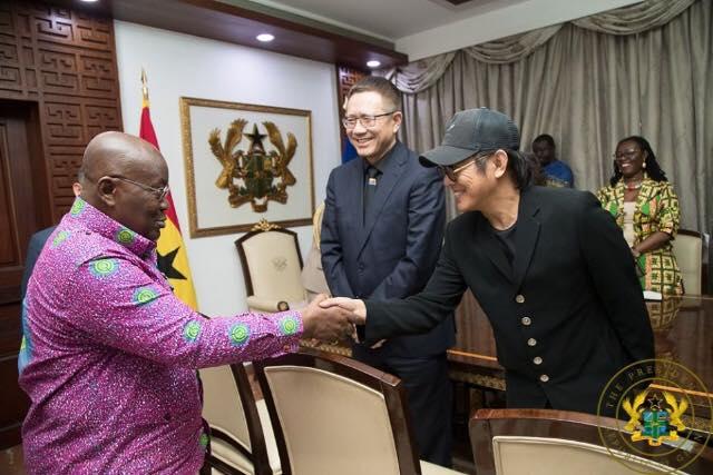 Le célèbre acteur chinois, Jet Li est au Ghana... la raison!