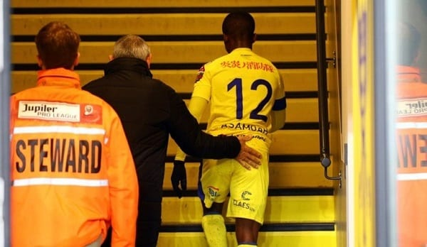 Ghanaian footballer receives red card for showing love for Jesus