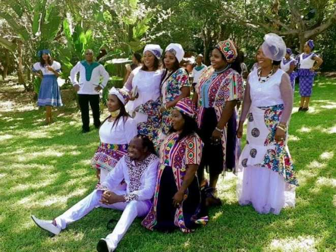 South Africa: man marries 6 women on same day (photos)