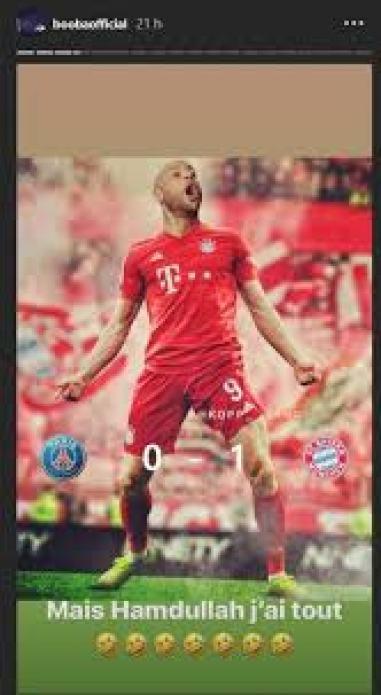 Bayern Munich-Psg : Booba insulte sévèrement La Fouine sur les réseaux sociaux