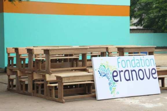 Côte d'Ivoire / Rénovation du groupe scolaire Front Lagunaire : un engagement de la CIE, SODECI et la Fondation ERANOVE