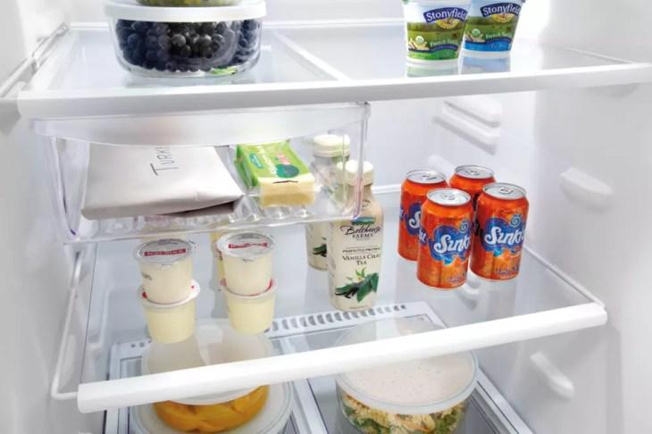 Ngăn kính cường lực tủ lạnh