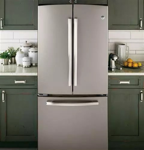 GE GNE22GMEES 221 Cu Ft French Door Refrigerator With