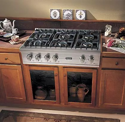 Viking VGRT5364GSS 36 Inch Pro Style Gas Rangetop With 4 VSH Pro Sealed Burners VariSimmers 12