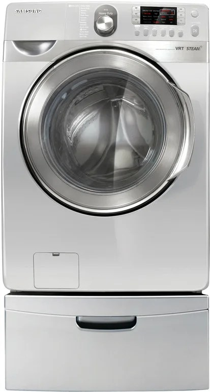 Samsung Wf448aaw 27 Inch Front Load Steam Washer With 3 9