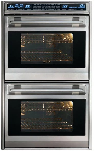 Wolf DO30FS 30 Inch Double Electric Wall Oven With 45 Cu Ft Dual Convection UpperLower Ovens