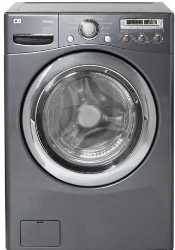 LG WM2455HG 27 Inch Front Load Washer With 42 Cu Ft Capacity 9 Wash Programs 5 Temperature