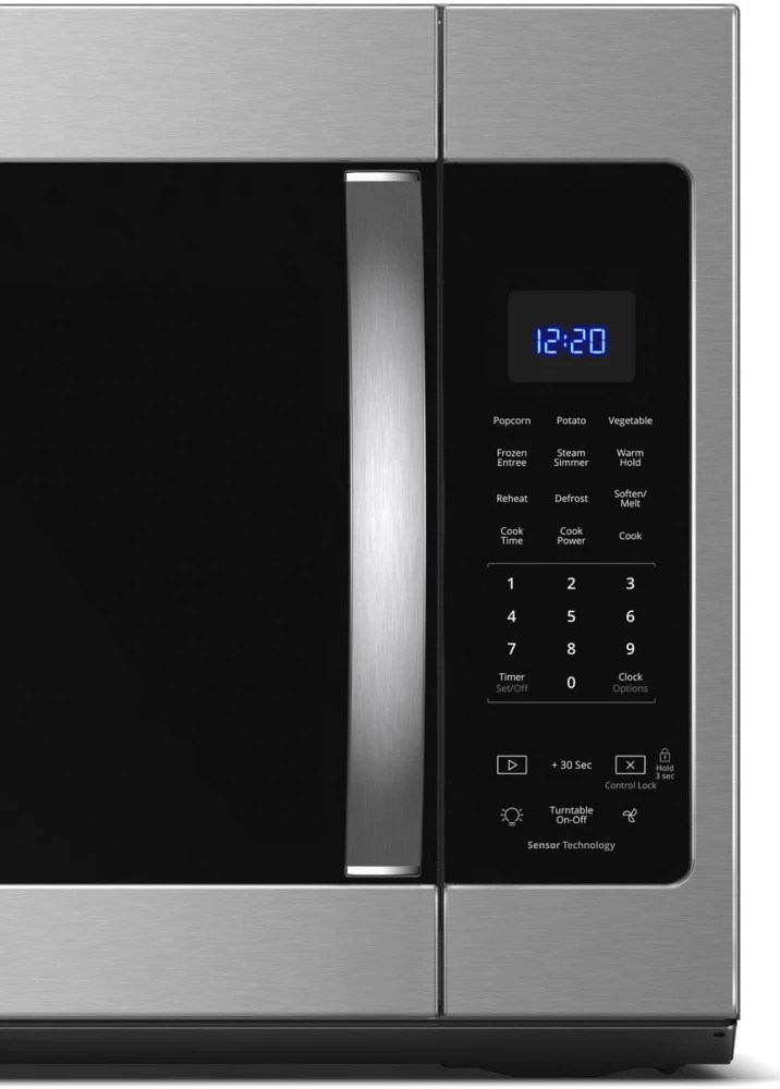 Whirlpool Wmh Hz 1 9 Over The Range Microwave With