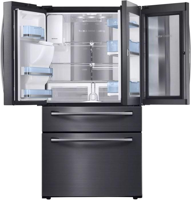 Samsung's 17.6 Cu. Top Freezer Model RT18M6215SR.