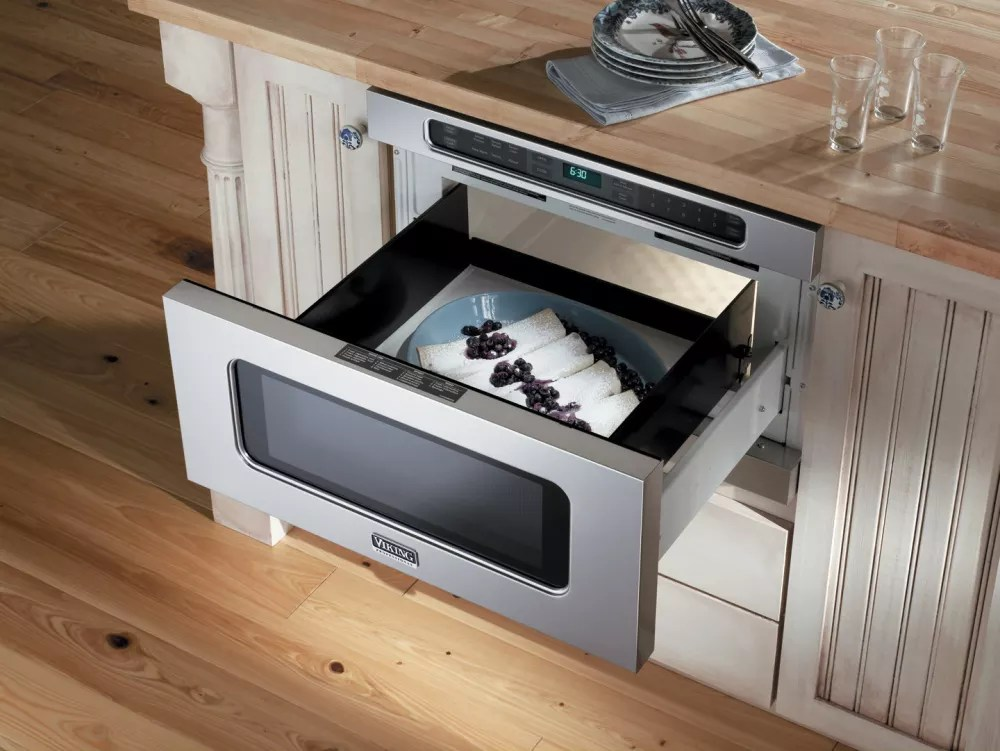 undercounter drawermicro microwave oven