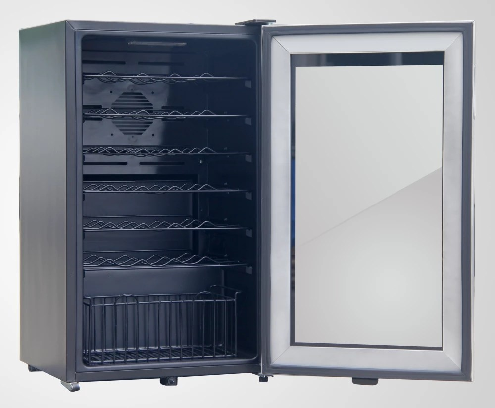 Avanti WC34T2P 20 Inch Undercounter Wine Cooler With 34 Bottle Capacity Modern Design Soft