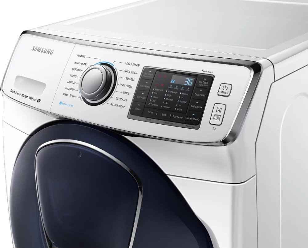 Samsung Wf45k Aw 27 Inch Smart Front Load Washer With