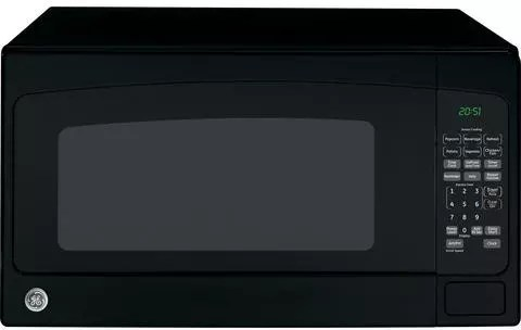 Ge Jes2051dnbb 2 0 Cu Ft Countertop Microwave With 1200 Watts