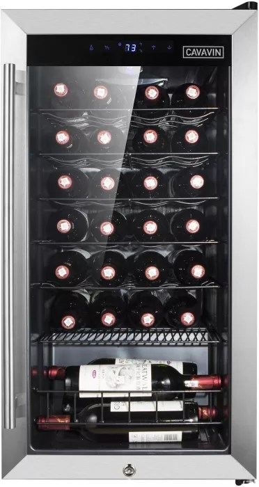 Cavavin B028wsz 20 Inch Freestanding Wine Cooler With Led Digital