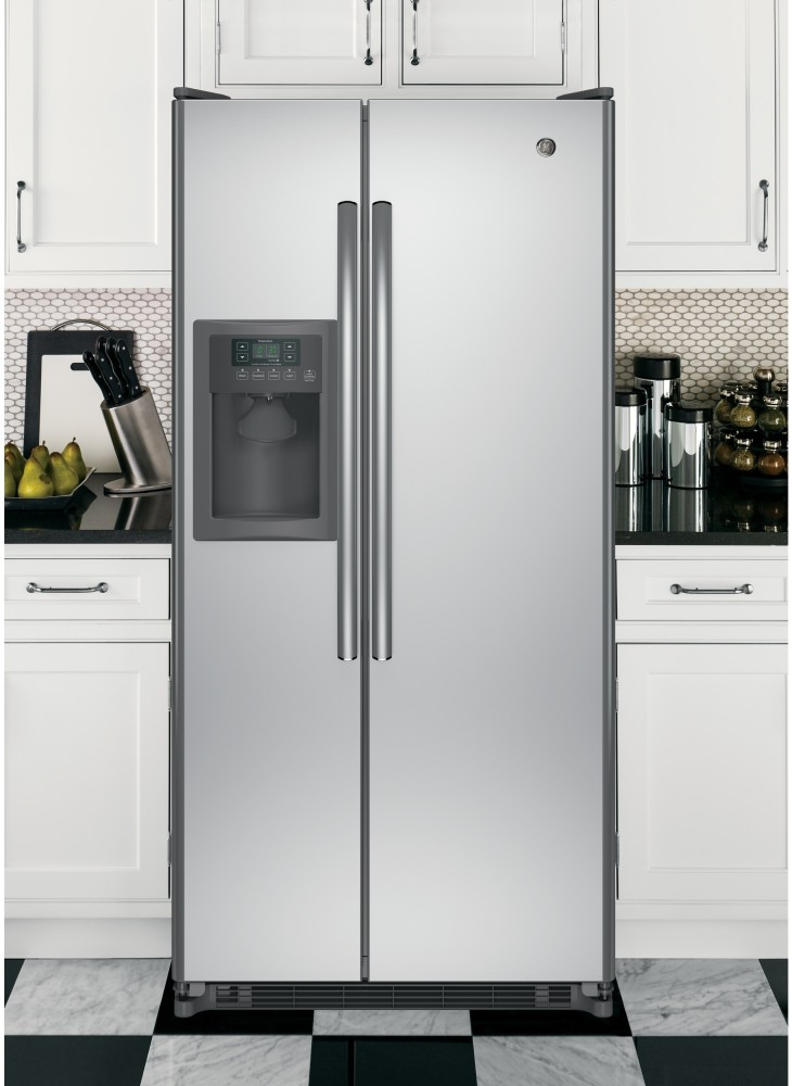 GE GSS20ESHSS 32 Inch Side By Side Refrigerator With 200