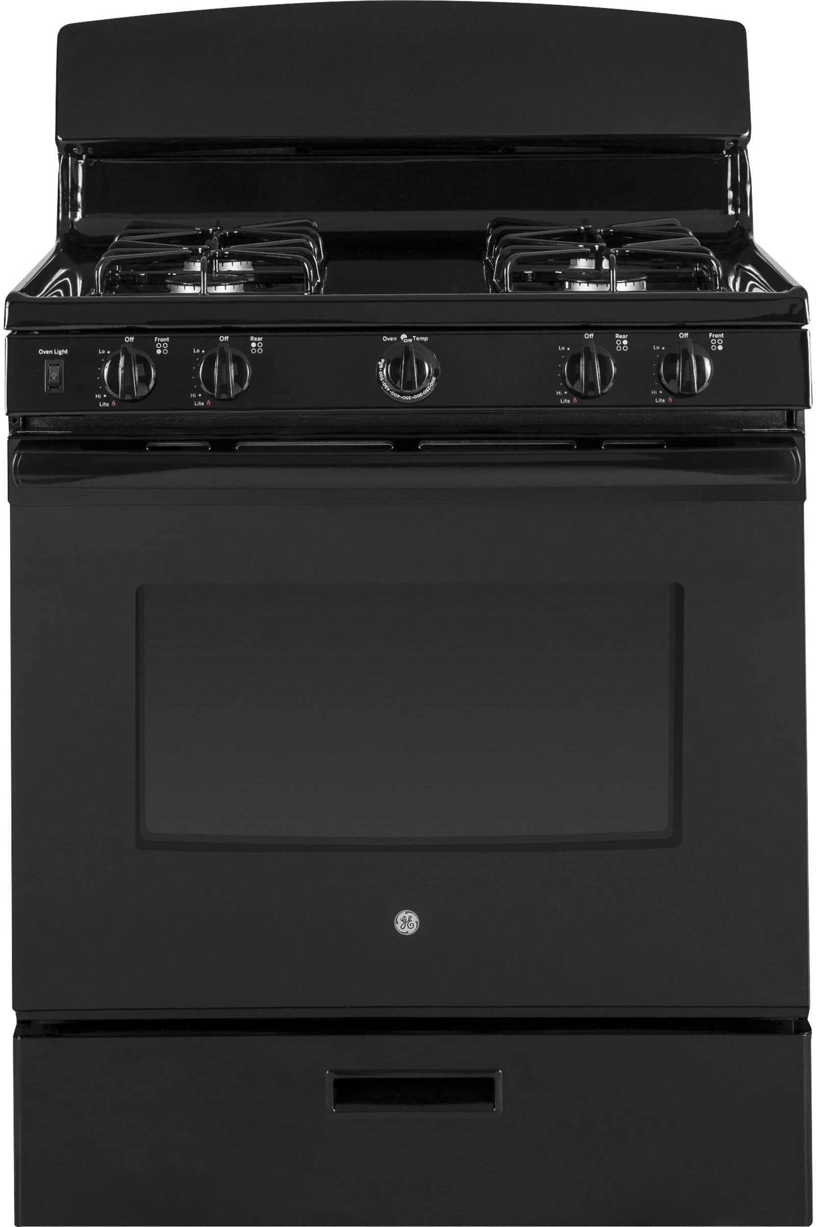Gas Range Oven Broiler Built