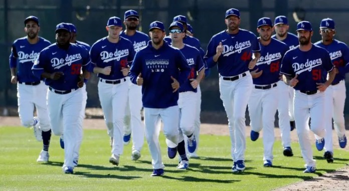 Baseball player of Dodgers acknowledges that it has been difficult for him to stay in shape at home