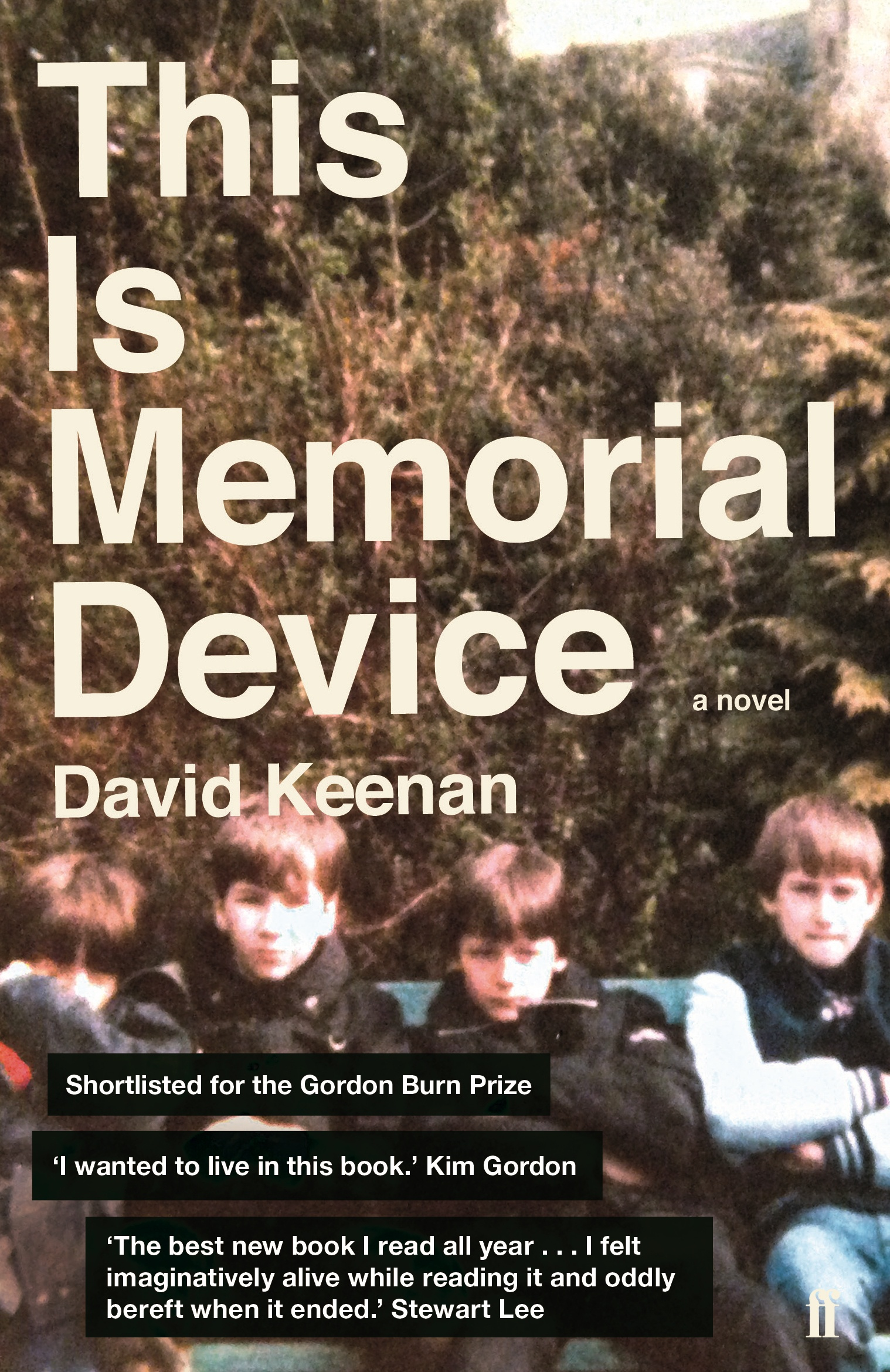 Resultat d'imatges de david keenan memorial device