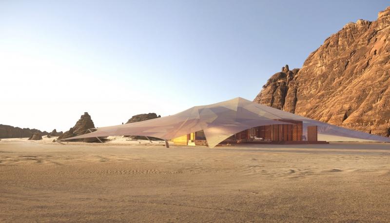 صور مدهشة.. AW2 تصمم منتجع خيم بدوي في صحراء العلا 2