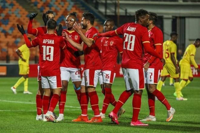 المارد الأحمر يحسم مباراة الأهلي ضد المريخ بثلاثية