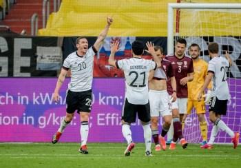 ألمانيا ضد لاتفيا