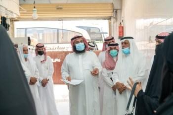 بلدي الرياض يرصد 48 ملاحظة بأحياء النسيم وسوق الجوهرة النسائي