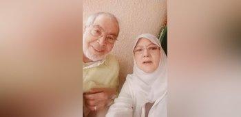 سيلفي شمس البارودي وحسن يوسف في سن الـ75 يثير الجدل