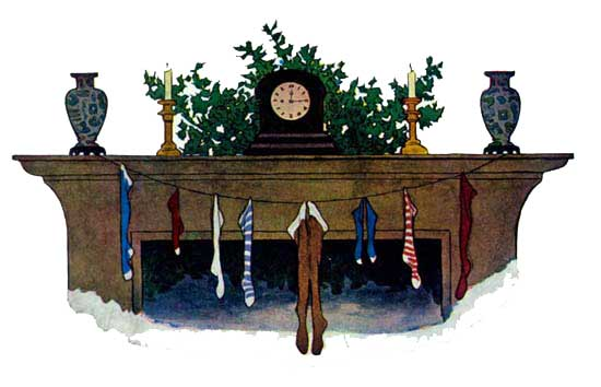 illustration for Twas The Night Before Christmas