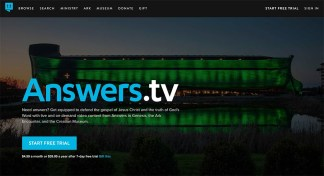Answers in Genesis Launches Video Streaming Service Focusing on Social Issues, Science, and Christian Doctrine