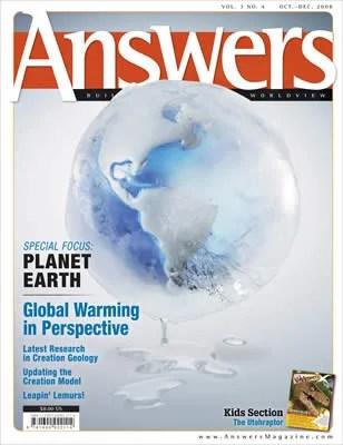 Answers Magazine, Single Issue - Vol. 3 No. 4