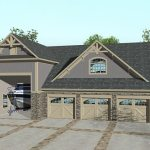 Rv Garage With Apartment Above 20133ga Architectural Designs House Plans