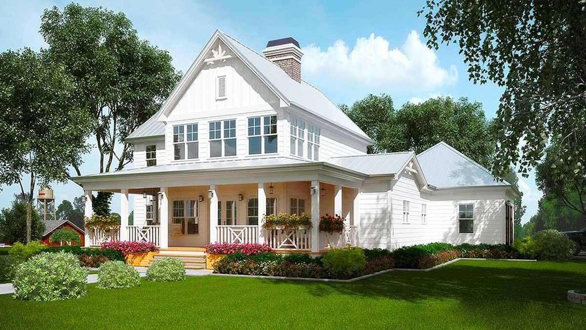 A Honey Of A Farmhouse 92381mx Architectural Designs