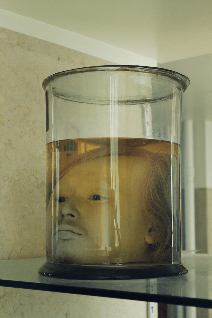 Image result for photos The Serial Killer's 175-Year-Old Head In A Jar