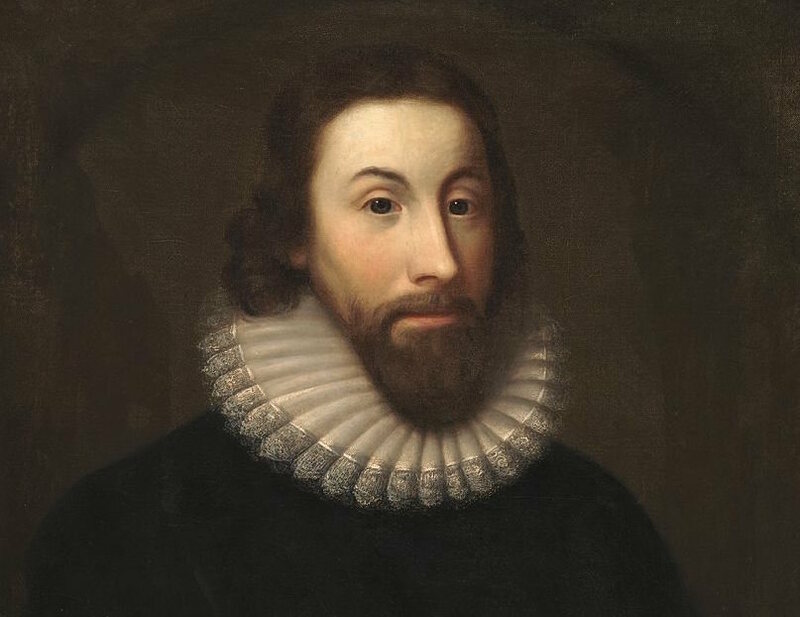 Lace collars were only for fancy Puritans like John Winthrop.