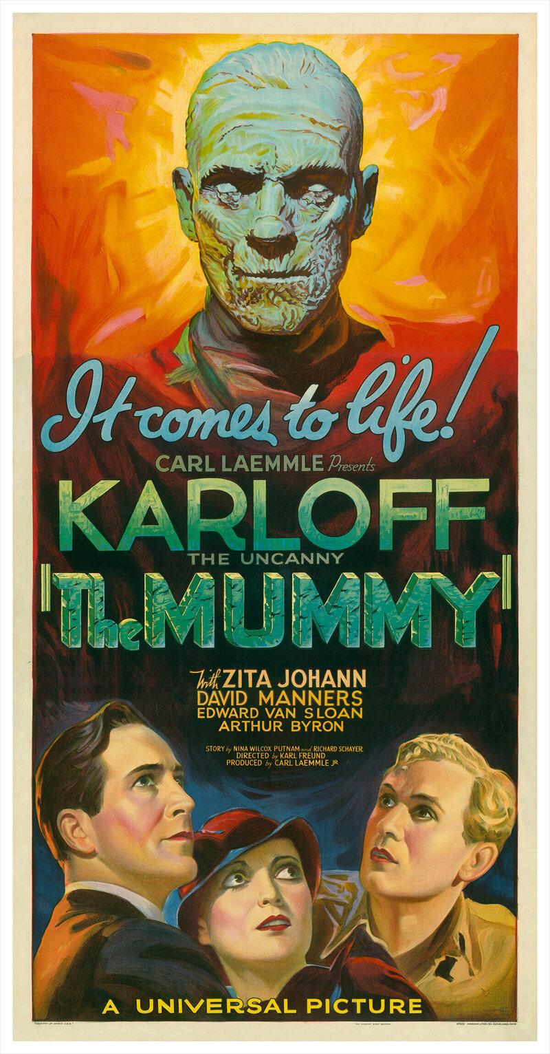 <em>The Mummy</em>, attributed to Karoly Grosz, 1932.