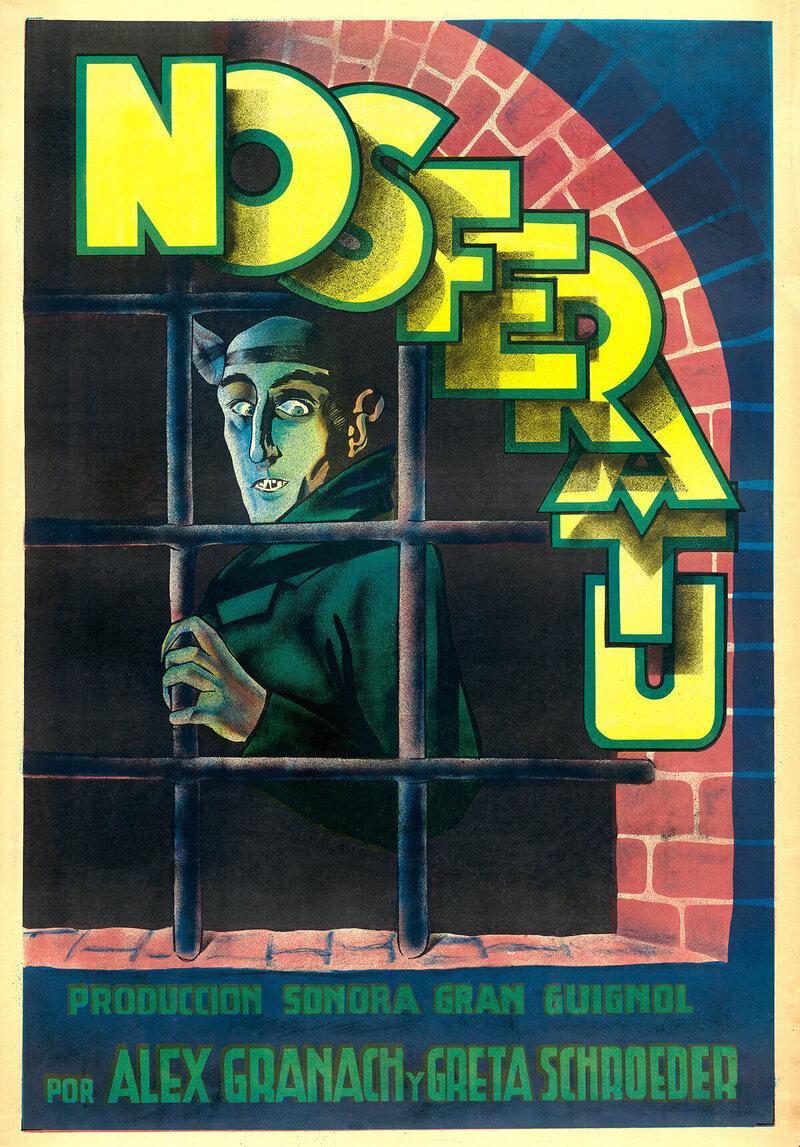 <em>Nosferatu</em>, c. 1931.