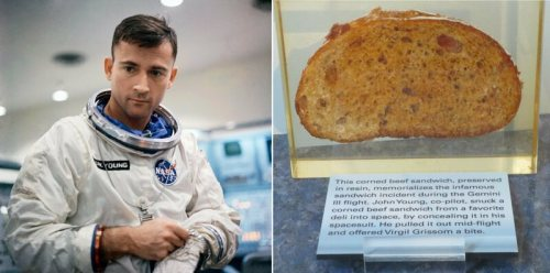 A corned beef sandwich like this one made it to space.