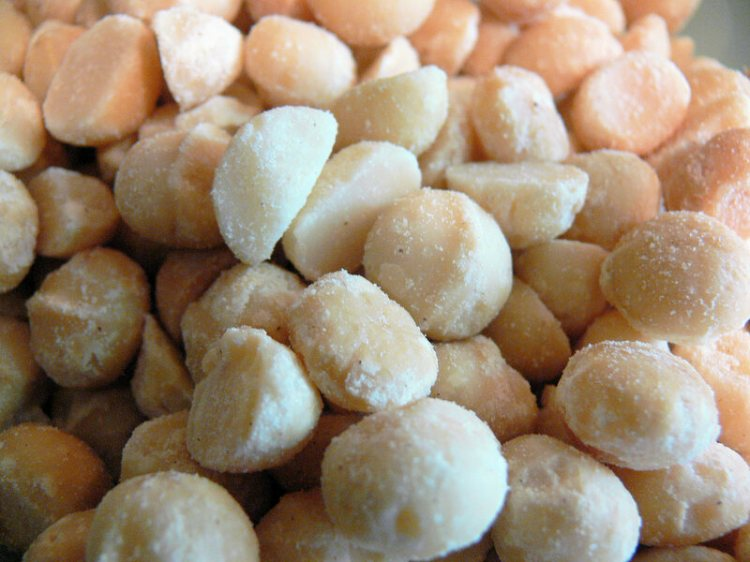 Behold the macadamia: delicious, fatty, and frequently cloned!