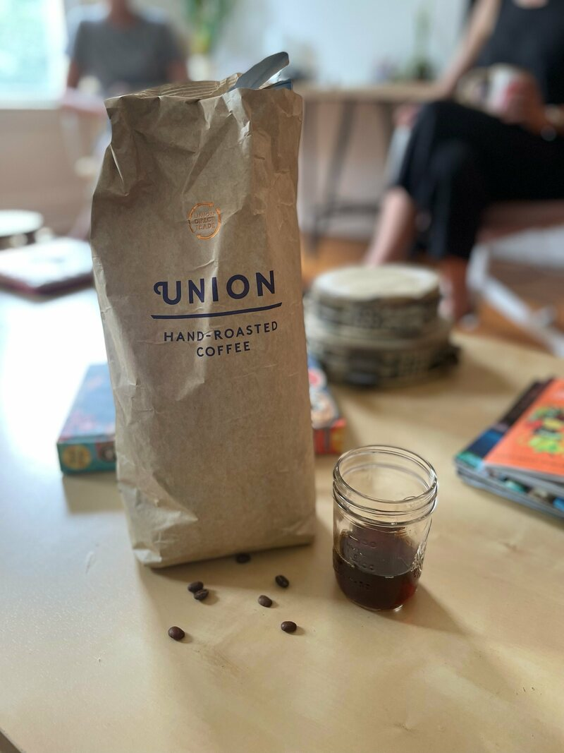 Forest coffee from Yayu.