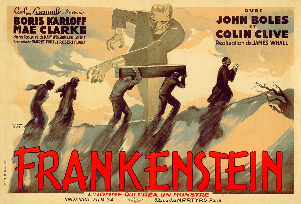 <em>Frankenstein</em>, Roland Coudon, c. 1931.