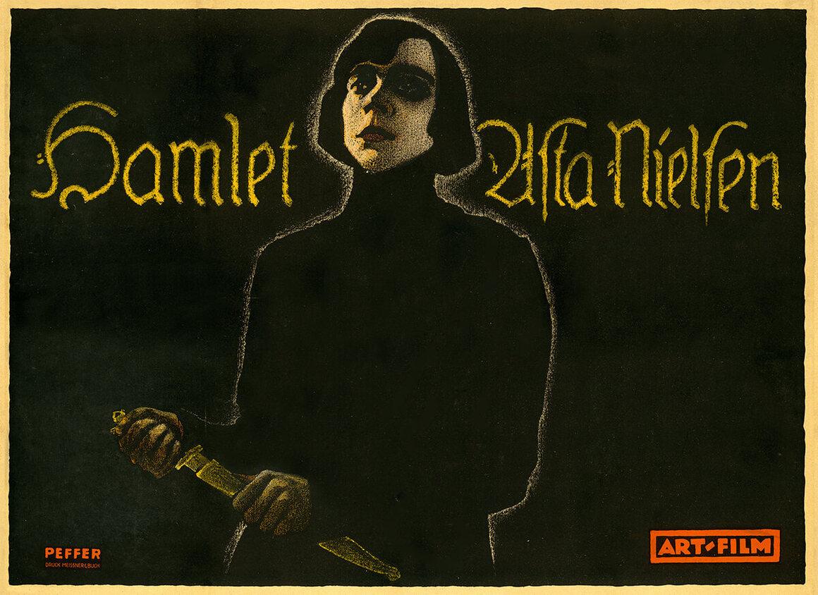 <em>Hamlet</em>, Franz Peffer, 1920.