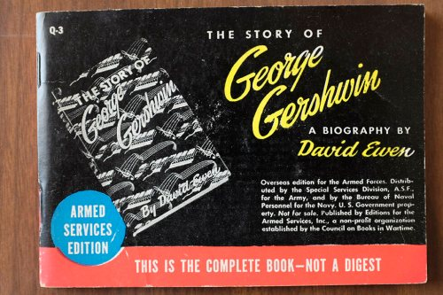 A biography of George Gershwin, in ASE format.