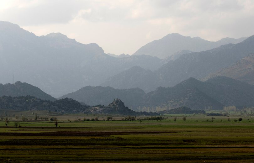 The rugged Taurus Mountains stretch just inland along much of Turkey's southern coast.