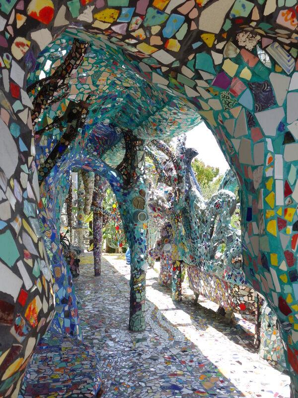 mosaic tile house of venice beach