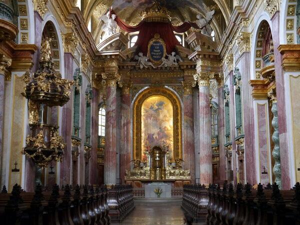 Jesuitenkirche (Jesuit Church) – Vienna, Austria - Atlas Obscura