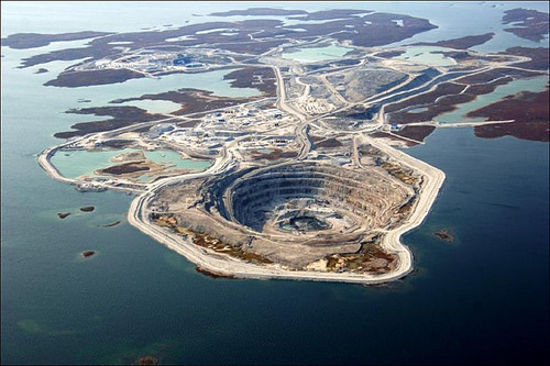 Image result for diavik diamond mine